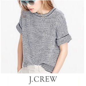 J. Crew Tops - J.Crew Stripped Short Sleeve Top